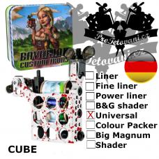 Professional coil machine Bavarian Custom Irons Cube Universal