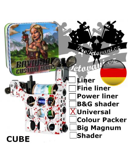 Profesionální cívkový strojek Bavarian Custom Irons Cube Universal