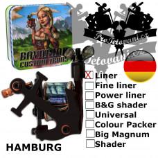 Professional coil machine Bavarian Custom Irons Hamburg Liner