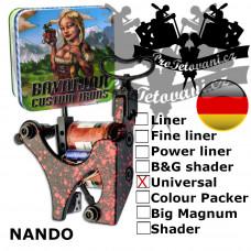 Professional coil machine Bavarian Custom Irons Nando Universal