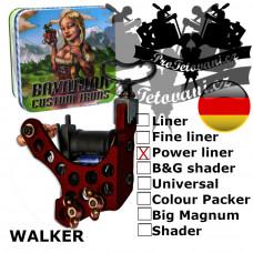 Professional coil machine Bavarian Custom Irons Walker PowerLiner