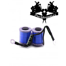 Coils for tattoo machine 10 wraps blue