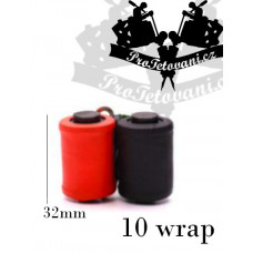 Coils for tattoo machine 10 wraps red and black
