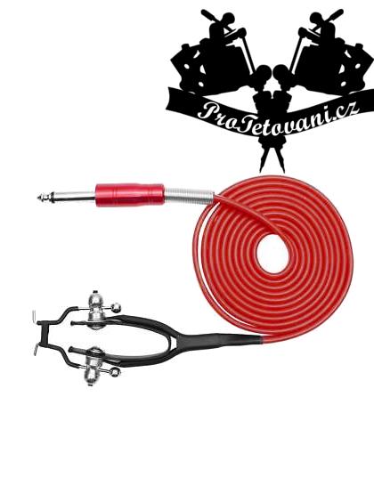 Clip cord pro tetovací strojky Royal Red