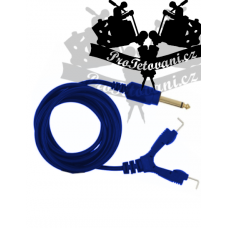 Clip cord for tattoo machines Hardened Blue