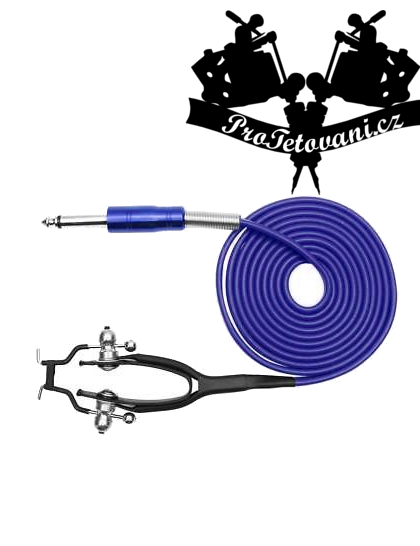 Clip cord pro tetovací strojky Royal Blue