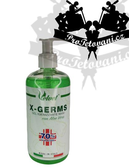 Dezinfekční gel na ruce Aloe Vera s pumpičkou 360 ml