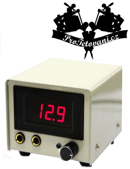 Digitální LCD tetovací zdroj White
