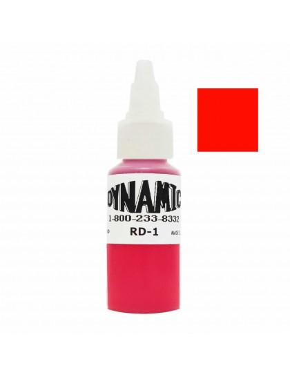 Dynamic ink Fire red tetovací barva 30ml