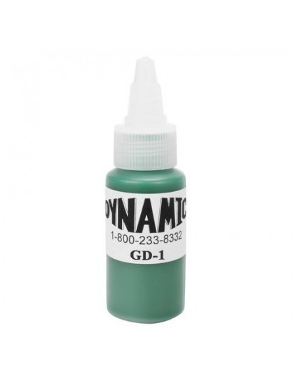 Dynamic ink Green tetovací barva 30ml