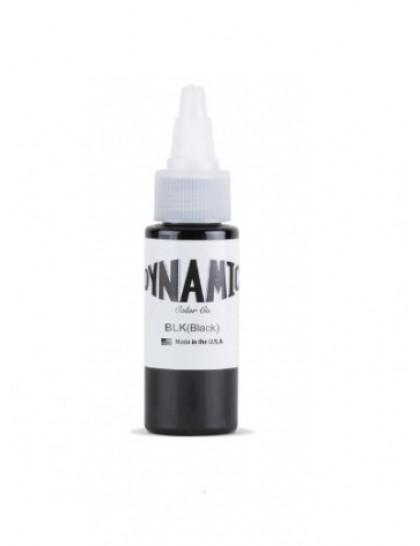 Dynamic ink Black tetovací barva 30ml