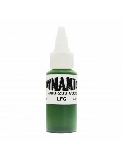 Dynamic ink Leaf Green tetovací barva 30ml