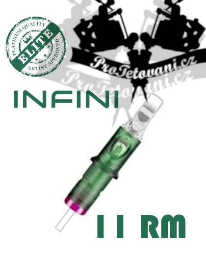 Tetovací cartridge Elite INFINI 11RM