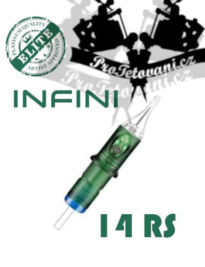 Tetovací cartridge Elite INFINI 14RS