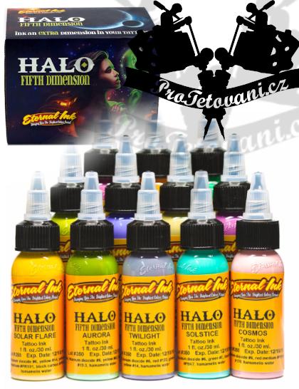Eternal ink Set Halo pro realistické tetování 12 ks