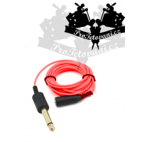 Extra thin 3.5 cable with 6.3 RED outlet