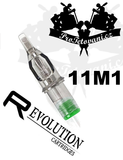 Tetovací cartridge EZ REVOLUTION 11M1