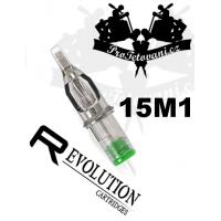 Tattoo cartridge EZ REVOLUTION 15M1