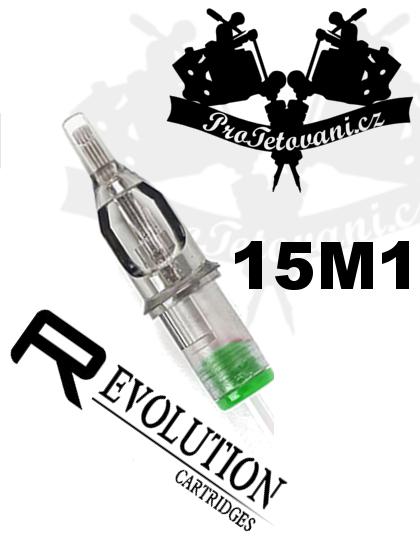 Tetovací cartridge EZ REVOLUTION 15M1