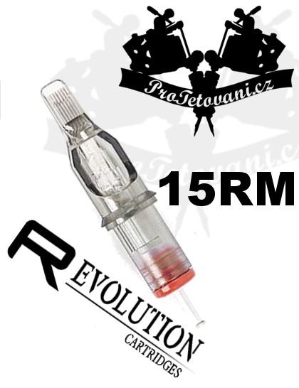 Tetovací cartridge EZ REVOLUTION 15RM