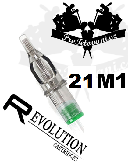 Tetovací cartridge EZ REVOLUTION 21M1