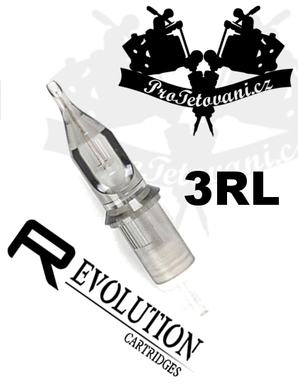 Tetovací cartridge EZ REVOLUTION 3RL