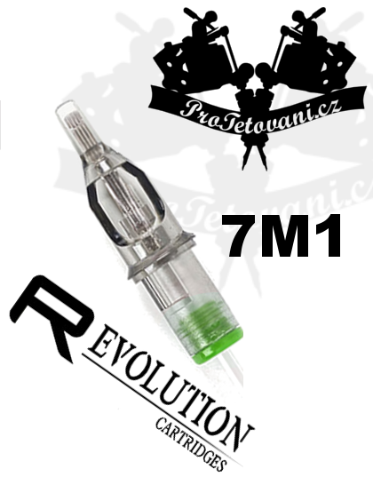 Tetovací cartridge EZ REVOLUTION 7M1