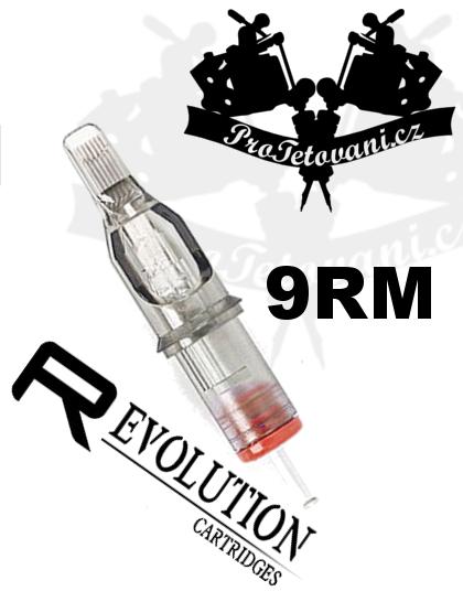Tetovací cartridge EZ REVOLUTION 9RM