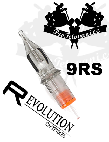 Tetovací cartridge EZ REVOLUTION 9RS