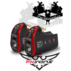 FK IRONS LightningBolt RCA portable rechargeable battery Double pack