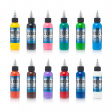 Fusion ink complete set of 12 tattoo colors