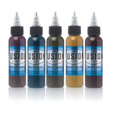 Fusion ink set Muted tattoo colors