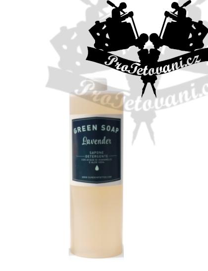 Green soap Lavender organické antibakteriální mýdlo 250 ml