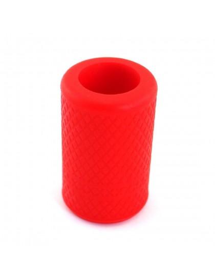Protiskluzový silikonový návlek na tetovací grip Red