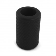 Non-slip silicone sleeve for tattoo grip