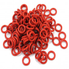 O ring rubber bands for tattoo machine Red 25pcs