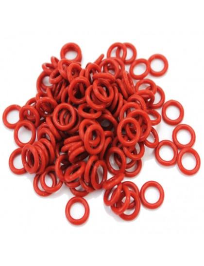 O ring gumičky pro tetovací strojek Red 25ks