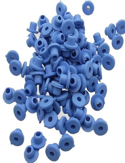 Grommets gumičky pro tetovací strojky blue 30ks