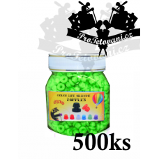 Grommets rubber bands for tattoo machines green package 500 pcs