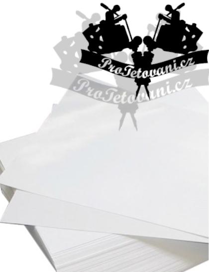Hedvábný papír pro přenos tetovacího motivu-vhodný i pro tiskárny