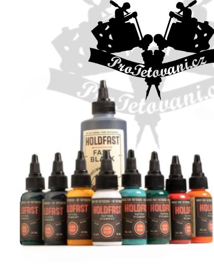 Holdfast set tetovacích barev 9 ks
