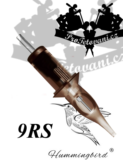 Tetovací cartridge HUMMINGBIRD 9RS