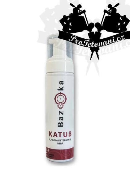 Aktivní pěna pro čištění tetování BAZOOKA BLACK 200 ml