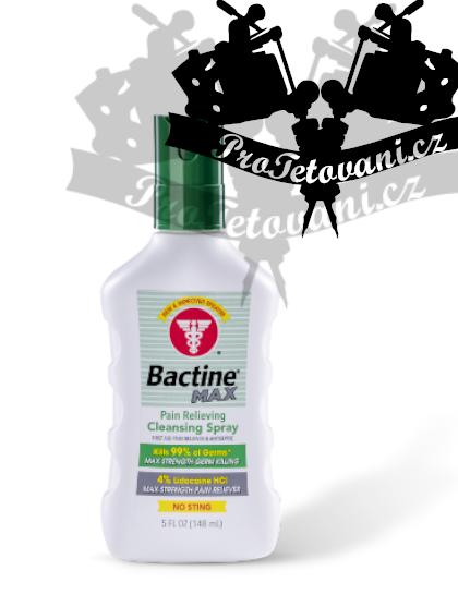 Antibakteriální anestetický sprej na tetování Bactine MAX 150ml