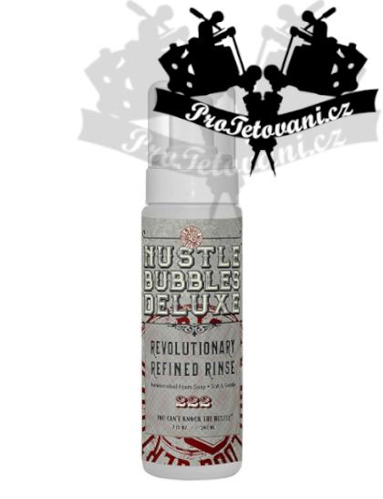 Antibakteriální čistící mýdlo HUSTLE BUBBLES DELUXE 207 ml