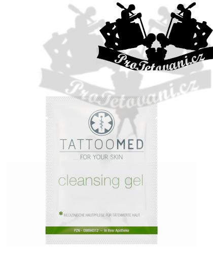Čistící gel pro tetování TattooMed® Shot 2,5 ml