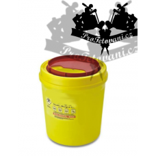 Tattoo waste container 3l yellow