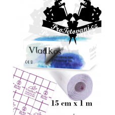 Protective foil after tattoo VLADKOS PROTECTIVE roll 1m x 15cm