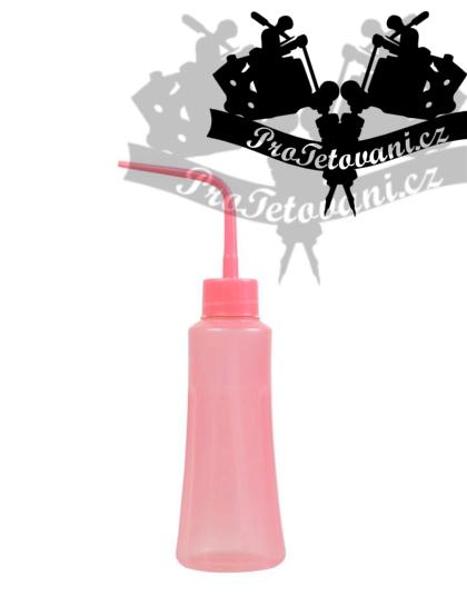 Plastová střička BABY PINK 250 ml