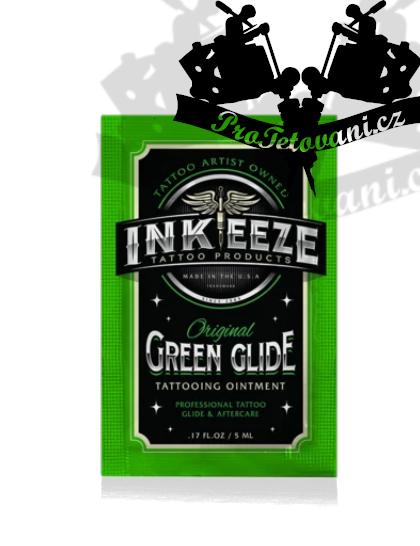 Pracovní krém INKEEZE GREEN GLIDE SHOT 5 ml